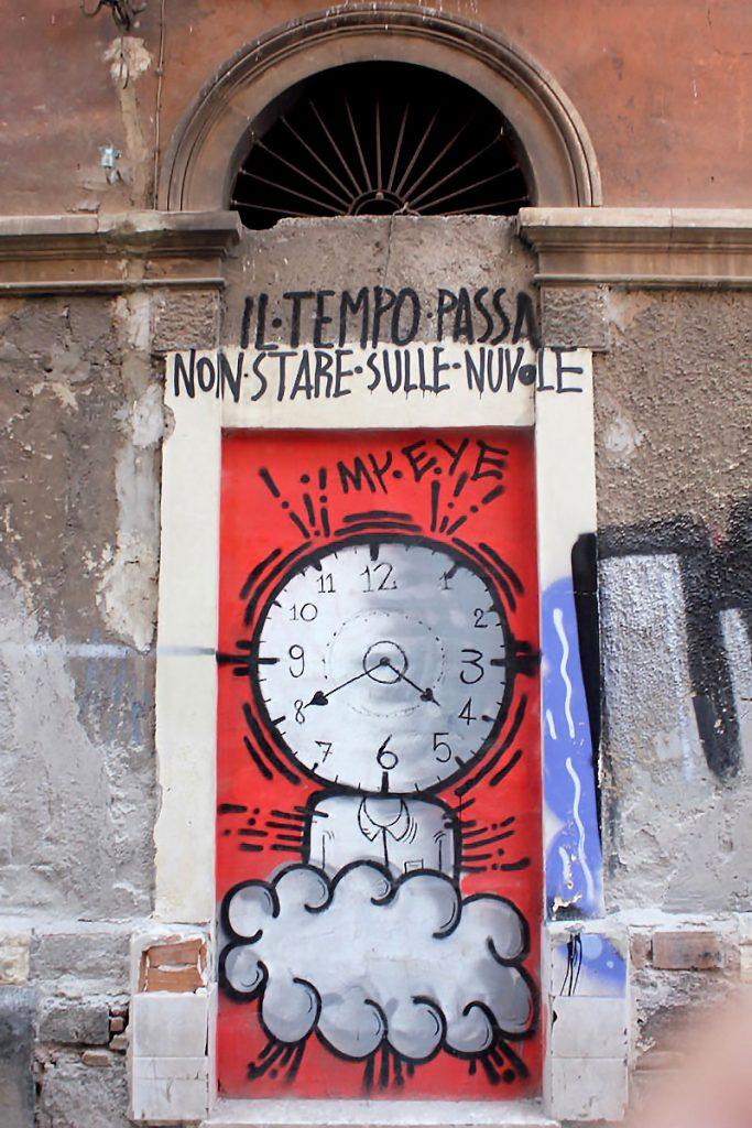 Murales nel quartiere di San Berillo. Catania