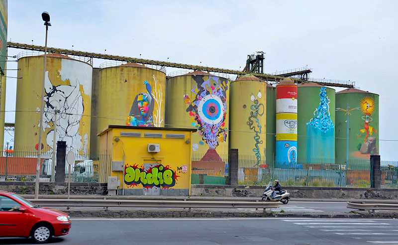 Street Art a Catania. I Silos